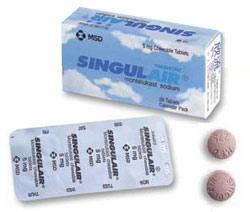 singulair and weight gain