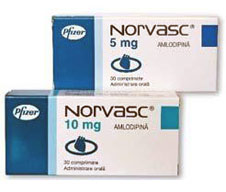 list side effects of norvasc
