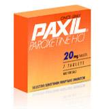 bupropion or paroxetine